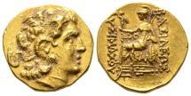 Ancient Coins - Gold Stater of Mithradates VI. of Pontus, Lysimachus/Alexander Type, Callatis Mint