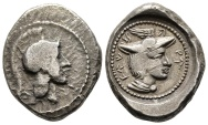 Rare stater of Vekhssere II. from Patara mint with Athena / Hermes