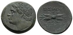Ancient Coins - EF Hieronymus Bronze With A Stunning Portrait