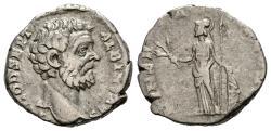 Ancient Coins - Clodius Albinus Denarius , Minerva Reverse