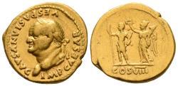 Vespasian Aureus, Year 77/78, Rome Mint