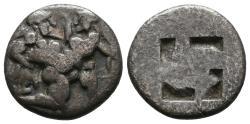 Ancient Coins - Thasos Hemidrachm, unpublished denomination!