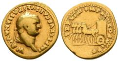 Ancient Coins - Rare Titus (Caesar) Aureus, Rome Mint, Struck 79, ex UBS auction 2010