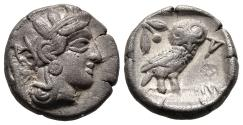 Ancient Coins - Classical Drachm of Athens