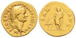 GOLD! Vespasian Pax Aureus
