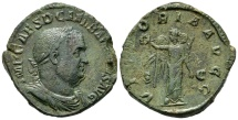 Sestertius of Balbinus with Victory reverse, good VF