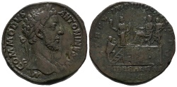 Ancient Coins - Rare Liberalitas Sestertius of Commodus, bought in 1958 in Germany
