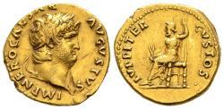 Ancient Coins - Juppiter Aureus of Nero