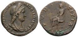 Ancient Coins - Scarce And Nice Sabina As