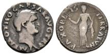 Ancient Coins - Cicil Wars: Scarce Denarius of Otho with Pax Reverse