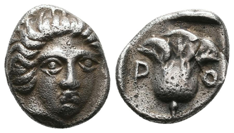 Ancient Coins - Early Rhodes Hemidrachm, 1990 Auction Pedigree