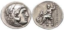 Ancient Coins - Extremely Fine Tetradrachm of Alexander From Unknown Mint