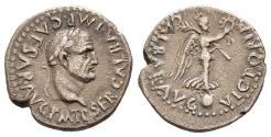 Ancient Coins - Rare Galba Quinarius