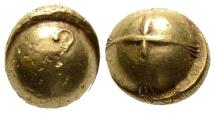Ancient Coins - Gaul: Bullet Stater With Torque Mintmark, GOLD