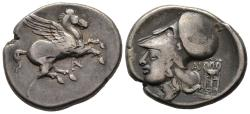 Ancient Coins - Rare Variety Of A Stater Of Anactorium in Acarnania