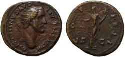 Ancient Coins - Antoninus Pius AE dupondius - AEQUITAS