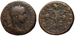 Ancient Coins - Alexander Severus AE As - MARS - 226 AD   11.88gm