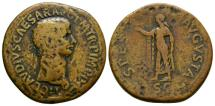 Ancient Coins - Claudius AE sestertius - SPES - Large coin 38mm