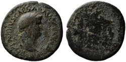 Ancient Coins - Nero AE As - EAGLE - Very Rare Balkan mint - Perinthus