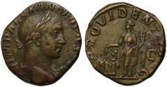 Ancient Coins - Stunning EF Alexander Severus AE sestertius - PROVIDENTIA