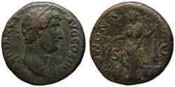 Ancient Coins - Hadrian AE As - ANNONA - 134-138 AD