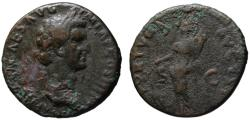 Ancient Coins - Nerva AE As - FORTUNA - Good portrait