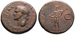 Ancient Coins - Agrippa AE As - NEPTUNE - under Caligula -  aVF