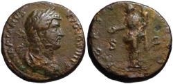 Ancient Coins - Hadrian AE sestertius - FORTUNA - aVF