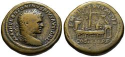 Ancient Coins - Caracalla AE sestertius - The Circus Maximus - Very Rare  R3
