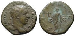 Ancient Coins - Alexander Severus AE dupondius - SPES PUBLICA - Scarce denomination