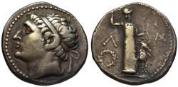 Ancient Coins - 19th C. BMC electrotype - Kleomenes III AR tetradrachm - King of Sparta