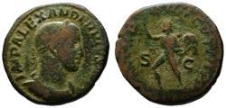Ancient Coins - Alexander Severus AE sestertius - SOL INVICTUS - 234 AD