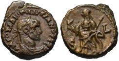 Ancient Coins - Diocletian AE potin tetradrachm - EIRENE - Rare