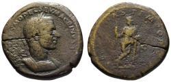 Ancient Coins - Macrinus AE sestertius - SECURITAS TEMPORUM - Rare