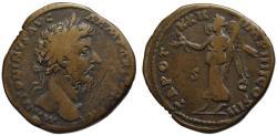 Ancient Coins - Marcus Aurelius AE sestertius - VICTORY