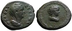 "Ancient Coins - Galerius Antoninus AE ""As"" from Cyprus / Crete mint - Very Rare"