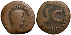 Ancient Coins - Augustus AE As - Licinius Nerva Silianus - Scarce