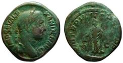Ancient Coins - Alexander Severus AE sestertius - LIBERTAS - 229 AD