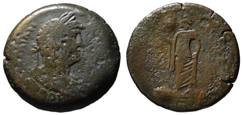 Ancient Coins - Hadrian AE drachm - ELPIS - Egypt Alexandria