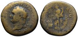 Ancient Coins - Titus AE sestertius - ANNONA AVG - Very Scarce