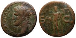 Ancient Coins - Agrippa AE As - NEPTUNE - under Caligula