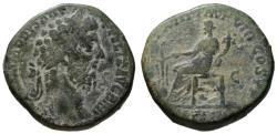 Ancient Coins - Commodus AE sestertius - FORTUNA - aVF