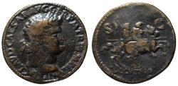 Ancient Coins - Paduan cast medal afer Cavino - NERO sestertius - DECVRSIO