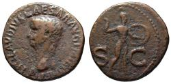 Ancient Coins - Claudius AE As - MINERVA