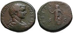 Ancient Coins - Caracalla as Caesar AE sestertius - SPEI PERPETUAE - Scarce