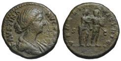 Ancient Coins - Faustina AE As - VENERI VICTRICI - Venus & Mars - Rare
