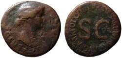 Ancient Coins - Livia AE dupondius - SALVS AVGVSTA - Very Scarce