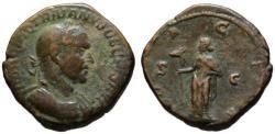 Ancient Coins - Trajan Decius AE sestertius - DACIA - aVF