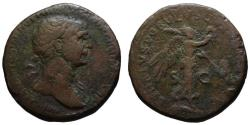 Ancient Coins - Trajan AE As - Victory advancing right - Scarce