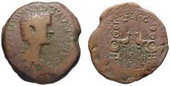 Ancient Coins - Caligula AE As - Legionary Eagles & Standards LEG I & II - Rare Acci spanish mint